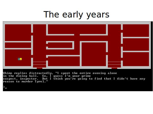 A short history of my life in computer games